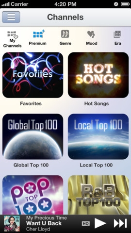 Music Unlimited 1.3.1 for iOS (iPhone screenshot 003)