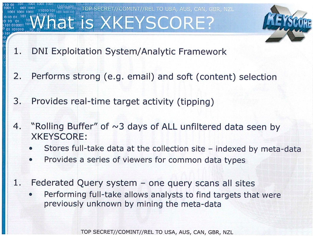 NSA X-Keyscore (slide 001)