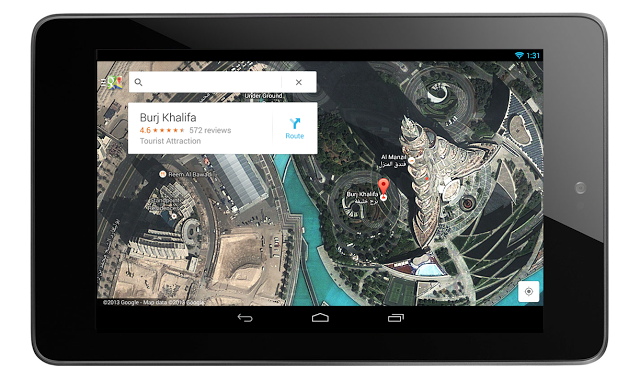 New Google Maps teaser