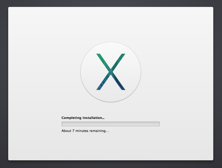 OS X Mavericks DP4 Setup