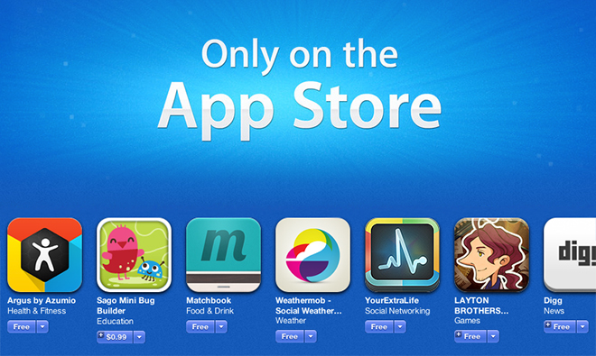 Only on the App Store (teaser 001)