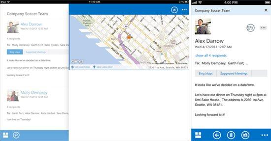 Outlook Web App for iOS (teaser 002)