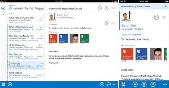 Outlook Web App for iOS (teaser 003)