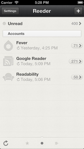 Reeder 3.2 for iOS (iPhone screenshot 003)