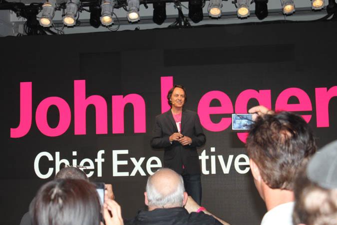 T-Mobile Jump (presser, John Legere)