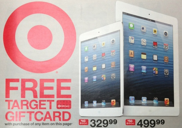 Target Free iTunes Gift Card promotion teaser