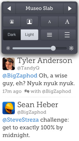 Twitterrific 5.2.3 for iOS (iPhone screenshot 003)