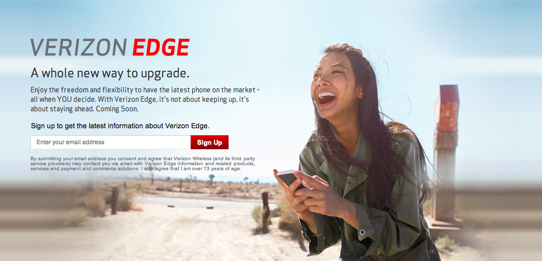 Verizon Edge teaser