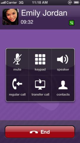 Viber 3.1 for iOS (iPhone screenshot 003)