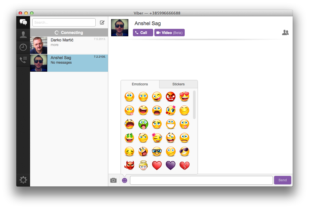 Viber for Mac gets typing indicator, group messaging, stickers and