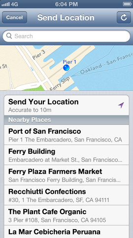 WhatsApp 2.10.1 for iOS (iPhone screenshot 005)