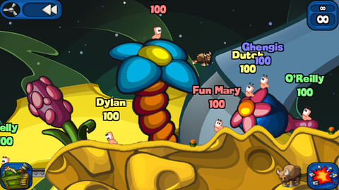 Worms 2 Armageddon for iOS (iPhone screenshot 002)