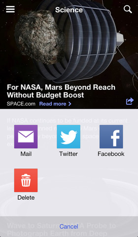 Yahoo News 3.1 for iOS (iPhone screenshot 004)