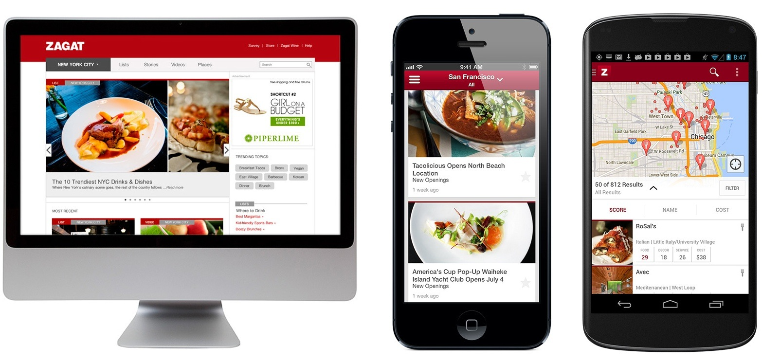 google posts zagat ios restaurant guide app makes ratings available on the web. Black Bedroom Furniture Sets. Home Design Ideas