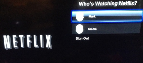 apple tv netflix profiles