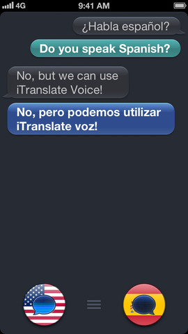 iTranslate Voice 2.0 for iOS (iPhone screenshot 001)