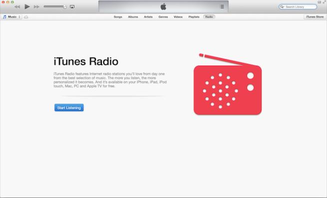 iTunes 11.1 Beta (screenshot 001)