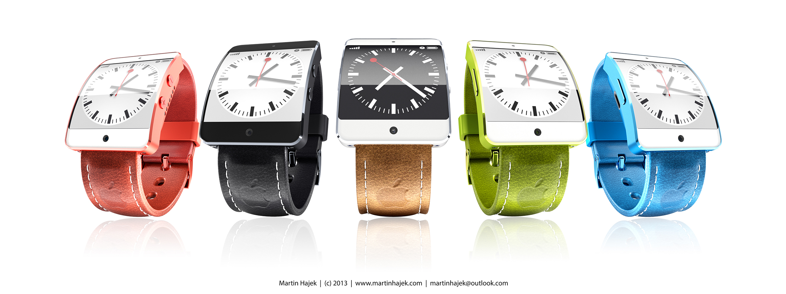 iWatch concept (Martin Hajek, multiple 001)
