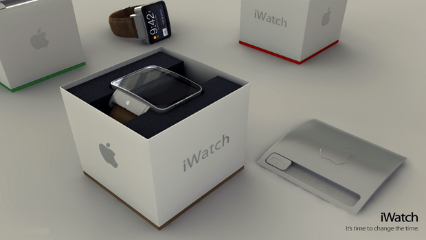 iWatch packaging concept