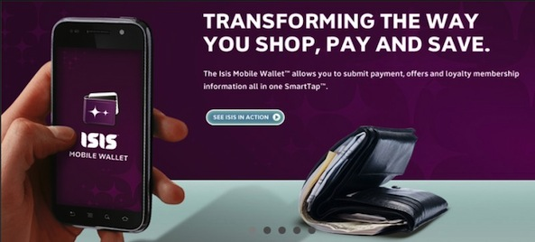 Mobile payment service Isis to go nationwide this year with