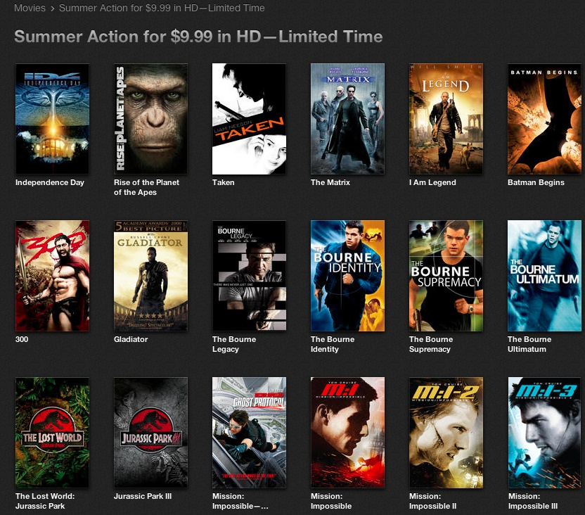 iTunes 11 (HD Movies 001)
