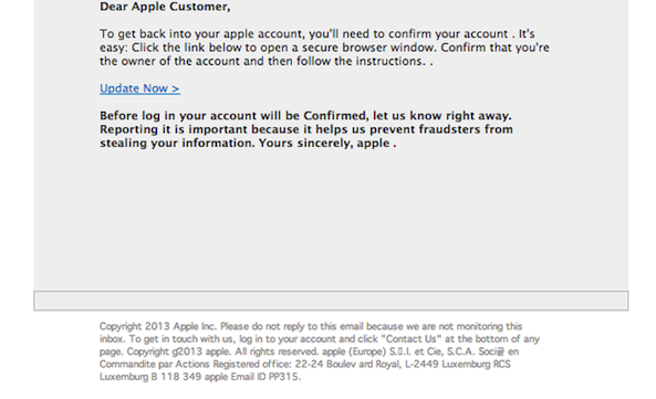phish scam