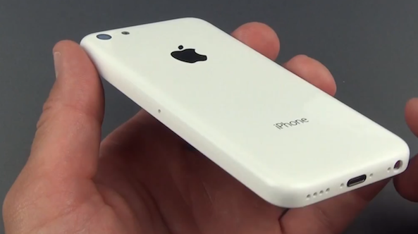 white iphone plastic