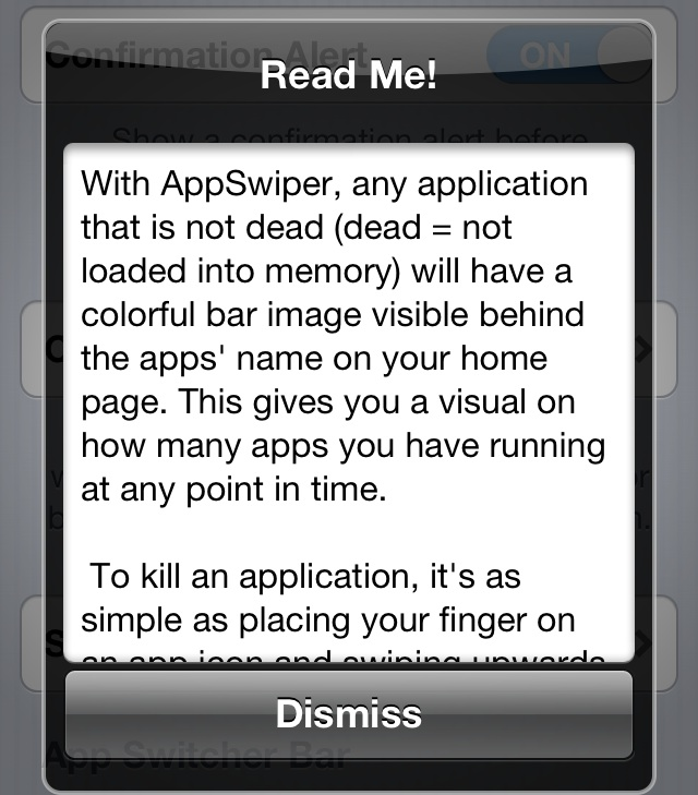 AppSwiper ReadMe