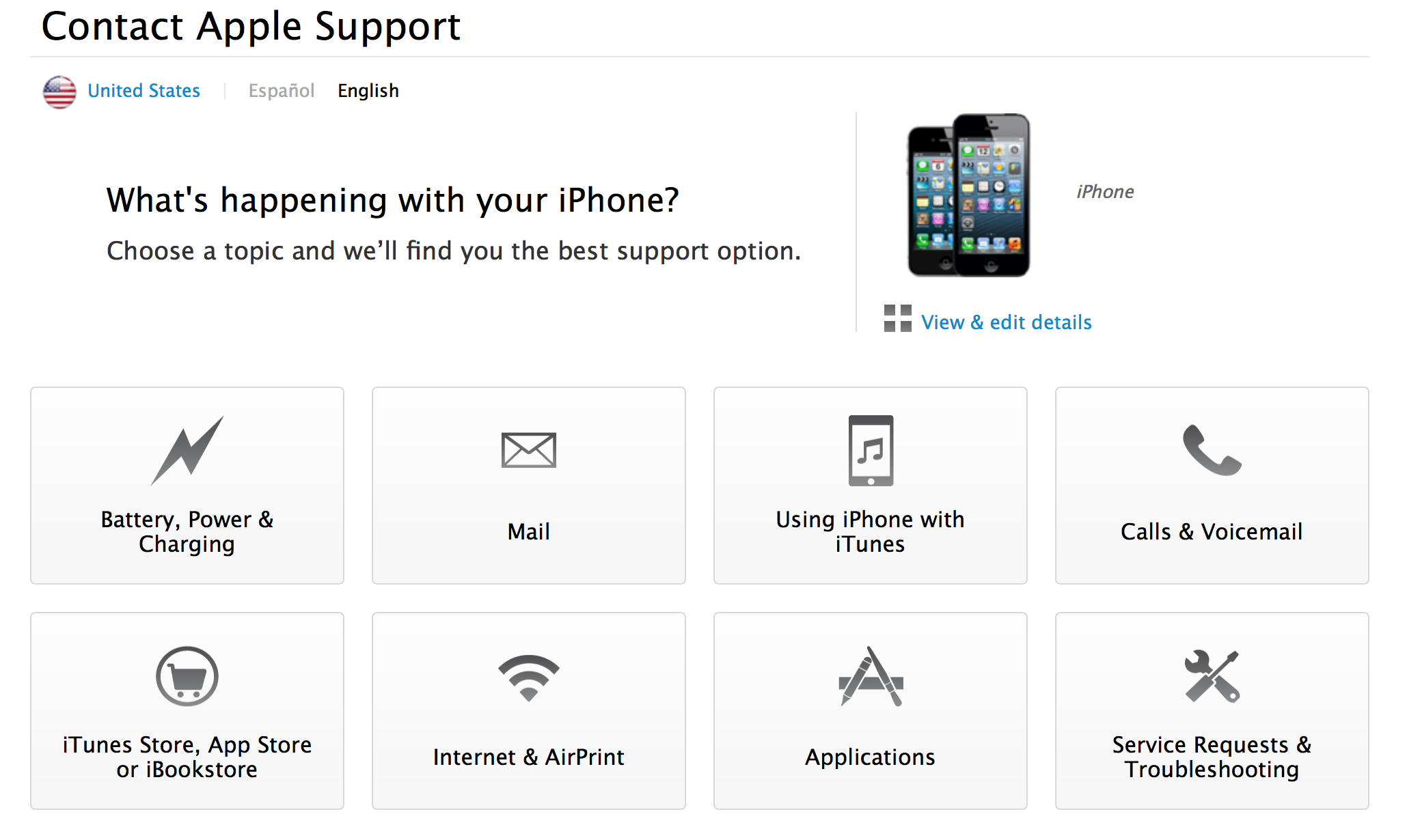 Apple Support (web screenshot 002, 20130827)