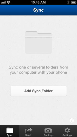 BitTorrent Sync (iPhone screenshot 002)