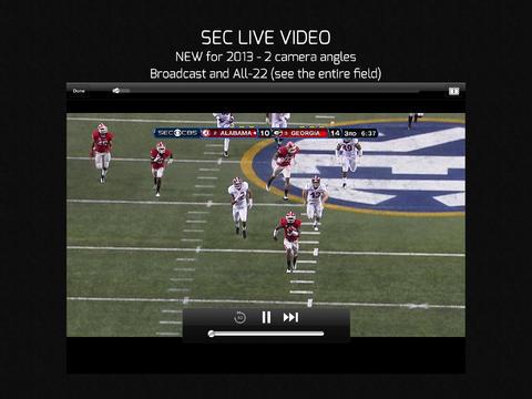 CBS Sports 6.0 for iOS (iPad screenshot 001)