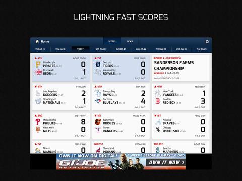 CBS Sports 6.0 for iOS (iPad screenshot 003)