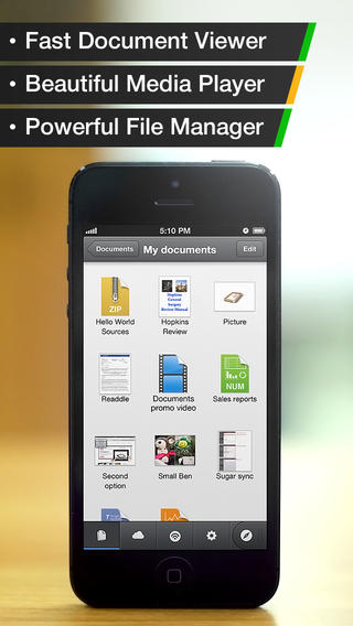 Documents by Readdle 4.3 for iOS (iPhone screenshot 001)