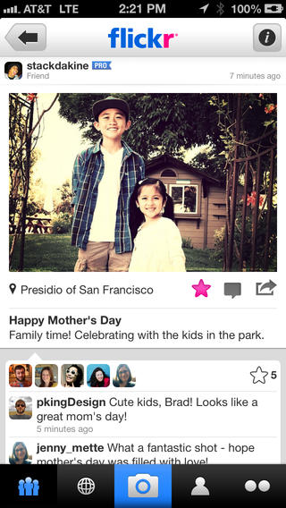 Flickr 2.20.1134 for iOS (iPhone screenshot 002)