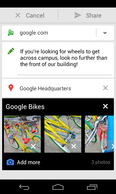 Google Plus 4.1 for Android (Apps for Business)