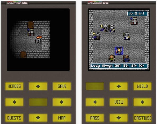 Gurk III – the 8-bit RPG comes to iOS