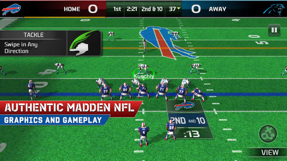 Madden NFL 25 1.0 for iOS (iPad screenshot 001)