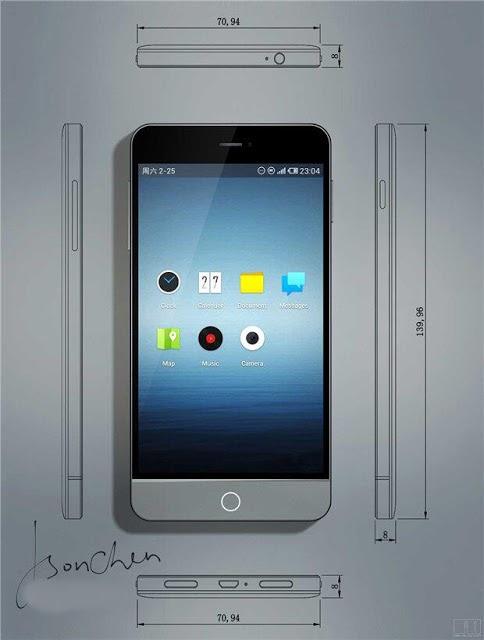 Meizu MX3 (front 001)