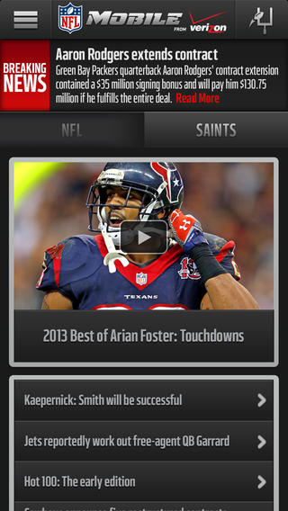 NFL Mobile 80. for iOS (iPhone screenshot 001)
