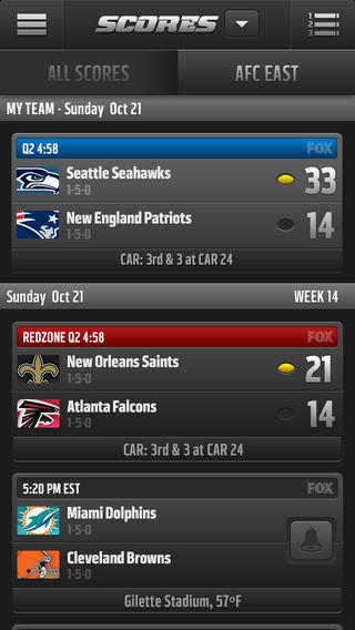 NFL Mobile 80. for iOS (iPhone screenshot 002)