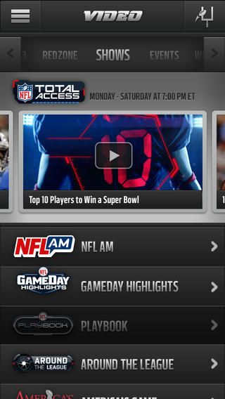 NFL Mobile 80. for iOS (iPhone screenshot 003)