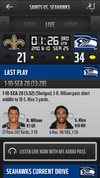 NFL Mobile 80. for iOS (iPhone screenshot 004)