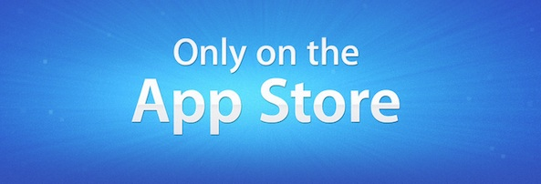 Only on the App Store Banner