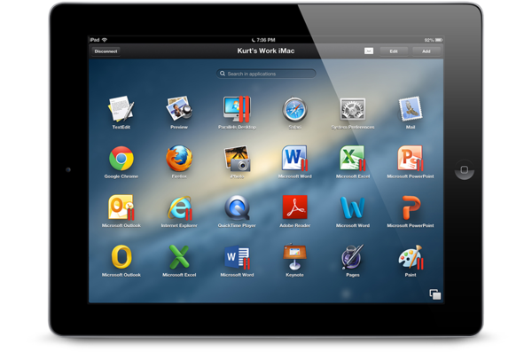 Parallels Access 1.0 for iOS (teaser 001)