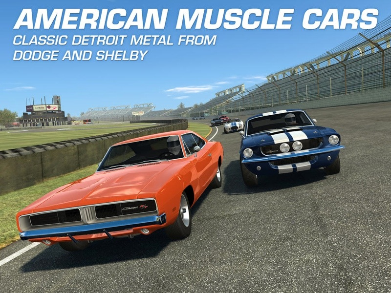 Real Racing 3 (Muscle Cards update, teaser 001)