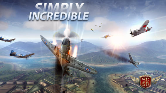 Sky Gamblers Storm Raiders for iOS (iPad screenshot 001)