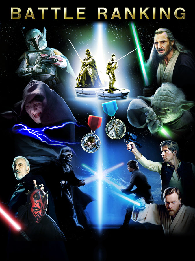 Star Wars Force Collection for iOS (Battle Ranking)
