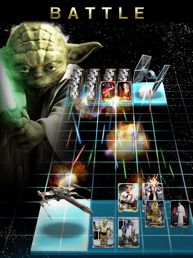Star Wars Force Collection for iOS (Battle, iPad)