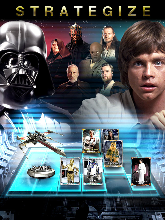 Star Wars Force Collection for iOS (Strategy, iPad)