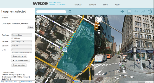 Waze Map Editor (screenshot 001)